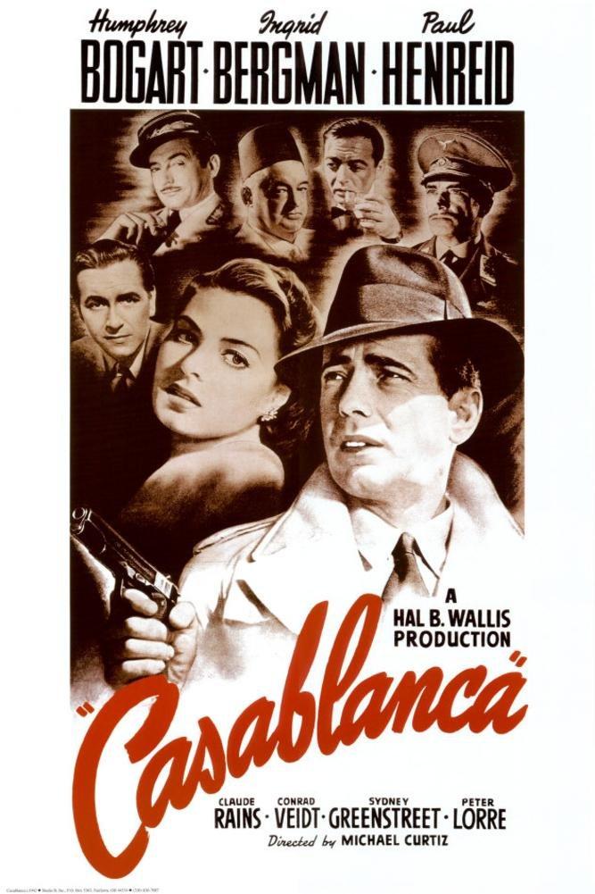 『カサブランカ』のポスター 24 x 36インチ   B0015KNVFA