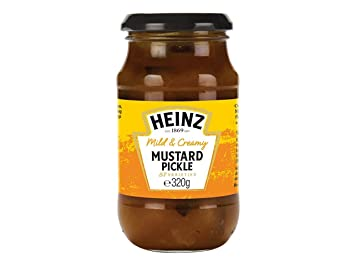 Original Heinz Mild Mustard Pickle Imported From The UK England Mild & Creamy Heinz Mustard Pickle