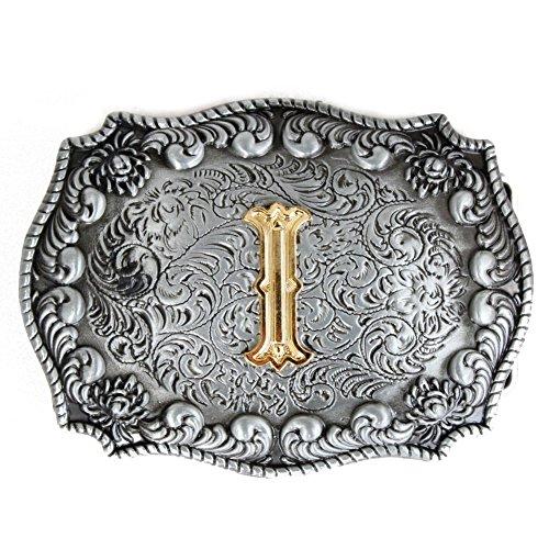 Cowboy Letter Belt Buckle For Men ()