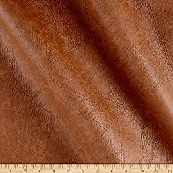 Plastex Faux Leather Patchwork Fabric by The Yard, Rawhide
