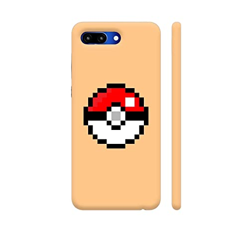 Colorpur Pokemon Pokeball Pixel Art Printed Back Case Amazon In