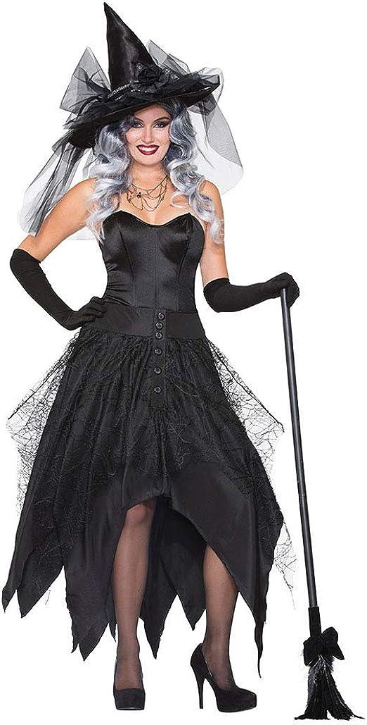 Classic Pink Halloween Bruja Disfraz para Mujer Cosplay Halloween ...