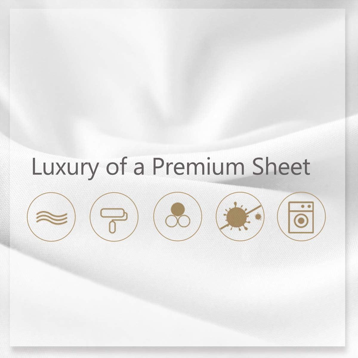 DBNMKK Premium Quality Flat Sheet Only 1800 Microfiber Twin Size Black Top Flat Sheet Deluxe 100/% Hypoallergenic Bed Sheets Lightweight Bedding Sheet