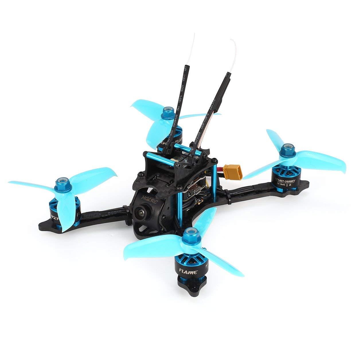 Für HGLRC XJB-145MM FPV Racing Drone mit OSD Omnibus F4 28A 2-4S Blheli_S ESC 25/100/200 / 350mW Umschaltbar VTX BNF Version