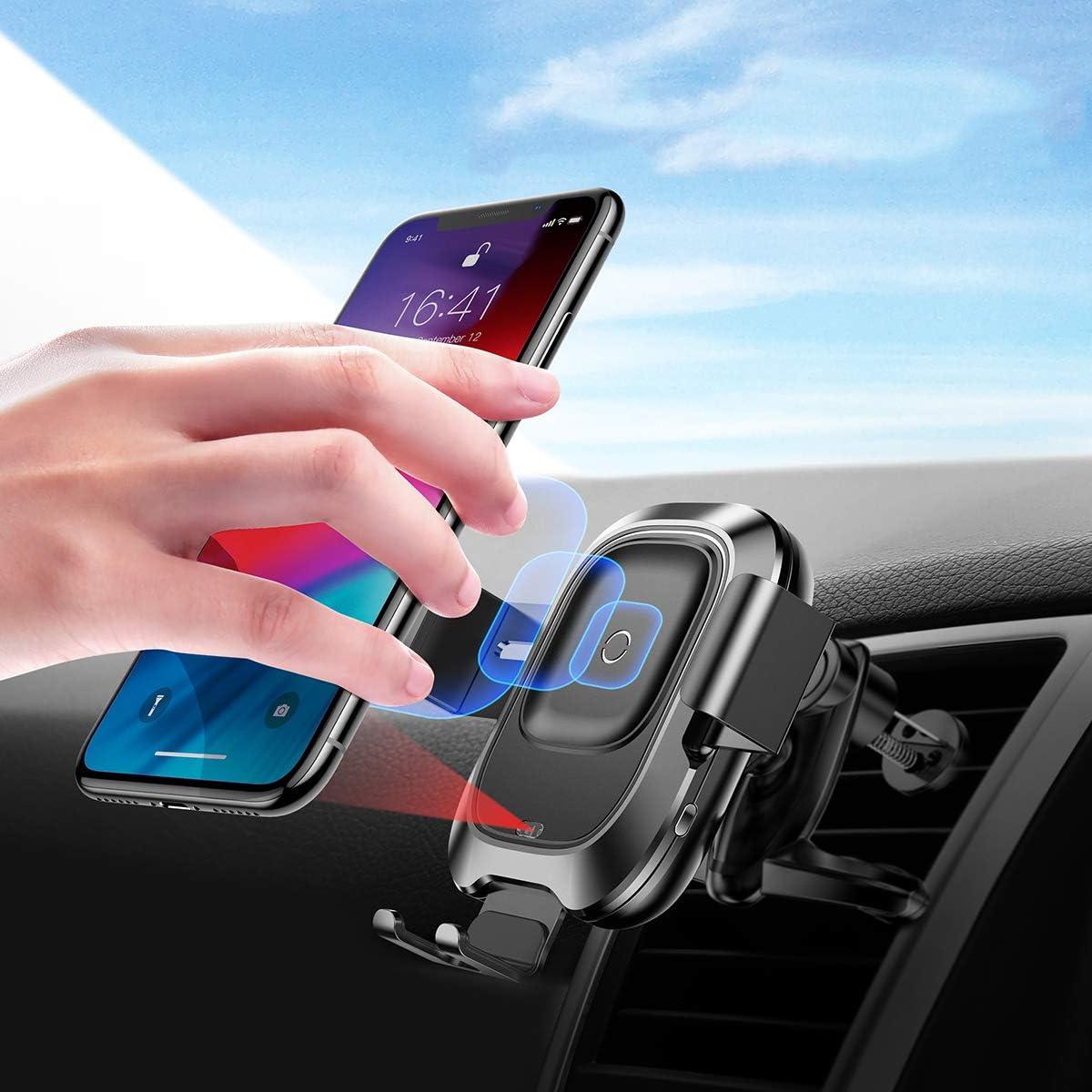 Baseus Qi Ladegerät Auto Pkw Wireless Elektronik