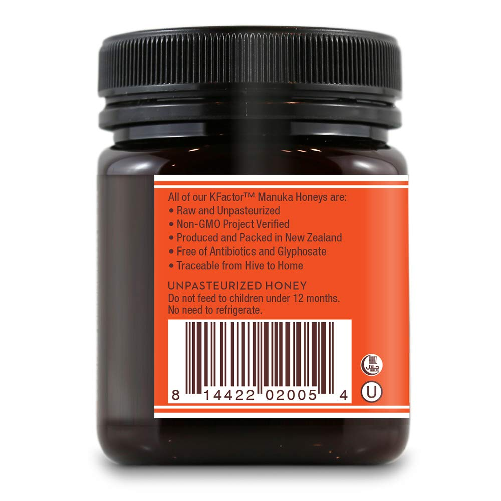 Wedderspoon - 100% miel de Manuka cruda KFactor oz de 16-8,8 ...