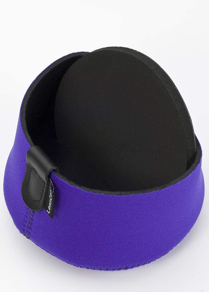 Camera Lens Neoprene Protection LCHXLBK LENSCOAT Hoodie X Large Black