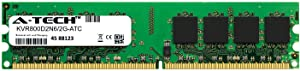 A-Tech 2GB Replacement for Kingston KVR800D2N6/2G - DDR2 800MHz PC2-6400 Non ECC DIMM 1.8v - Single Desktop & Workstation Memory Ram Stick (KVR800D2N6/2G-ATC)
