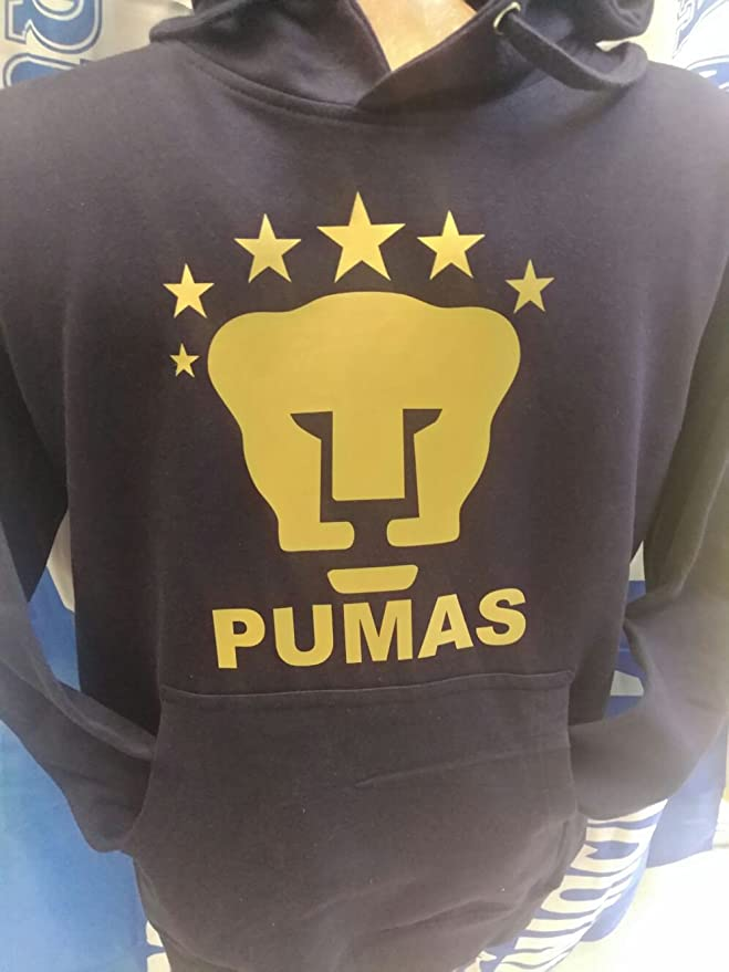 Amazon.com : New! Pumas De La UNAM Sweatshirt Hoodie with Pocket : Sports & Outdoors