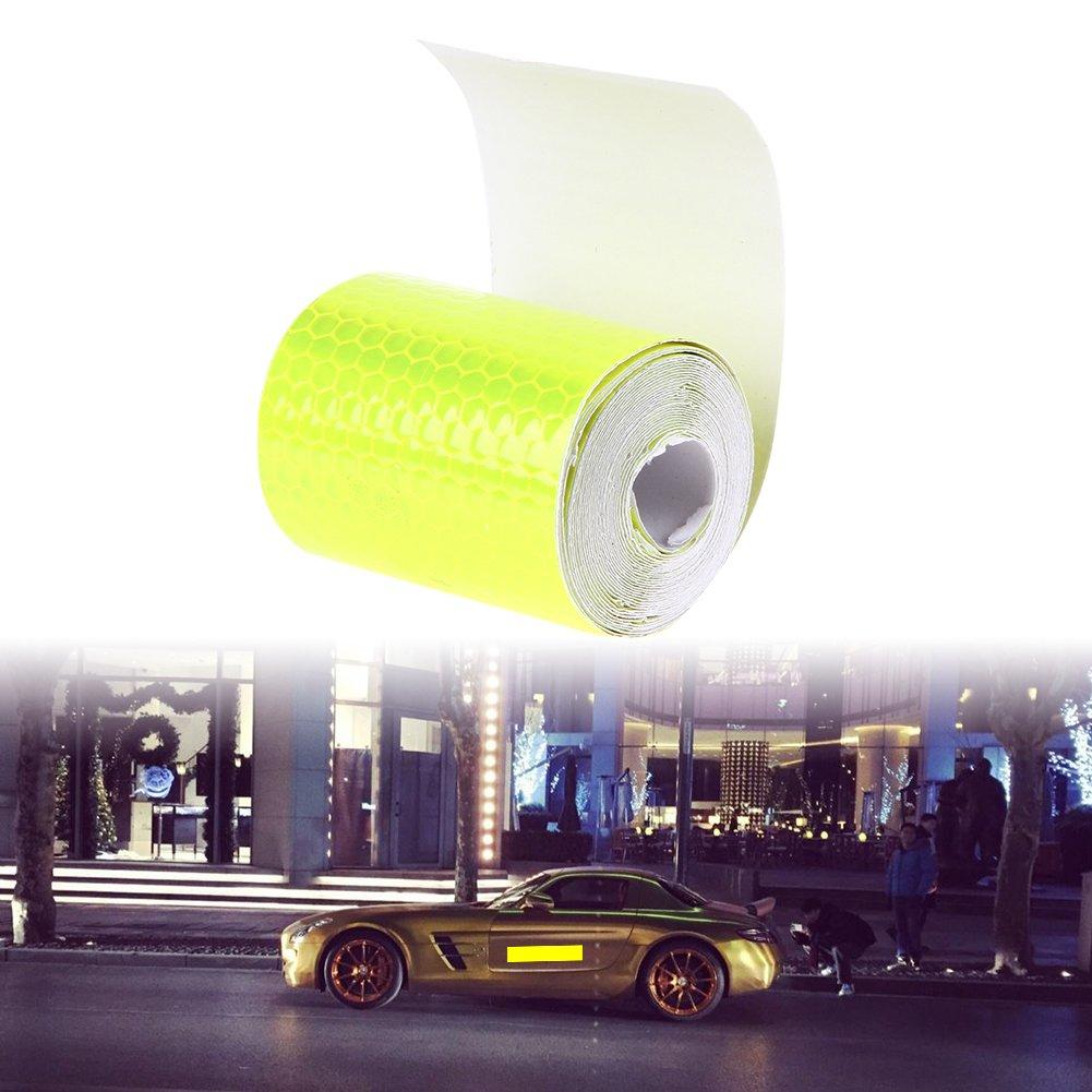 300cm Sicherheit Warnklebeband Everpert Reflektorband Klebeband 5cm Starke Haftung und wasserdicht stark reflektierende hohe Sichtbarkeit