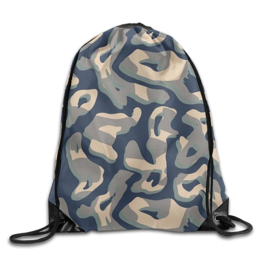 VIMUCIS Camo Drawstring Backpack Rucksack Shoulder Bags Training Gym Sack For Man And Women