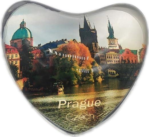 Weekinglo Souvenir Praga Checo Refrigerador Imán de Nevera Ciudad ...