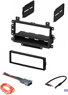 amazon com car stereo install dash kit to add a single din