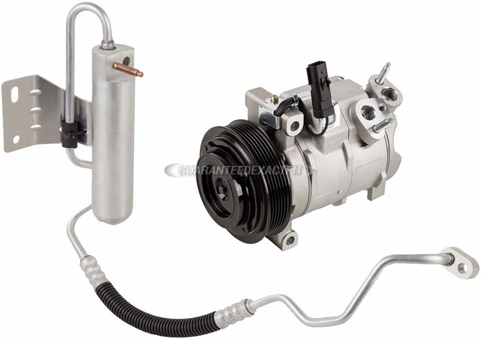 For Chevy Equinox 2005 AC Compressor w//A//C Repair Kit BuyAutoParts 60-80406RK New
