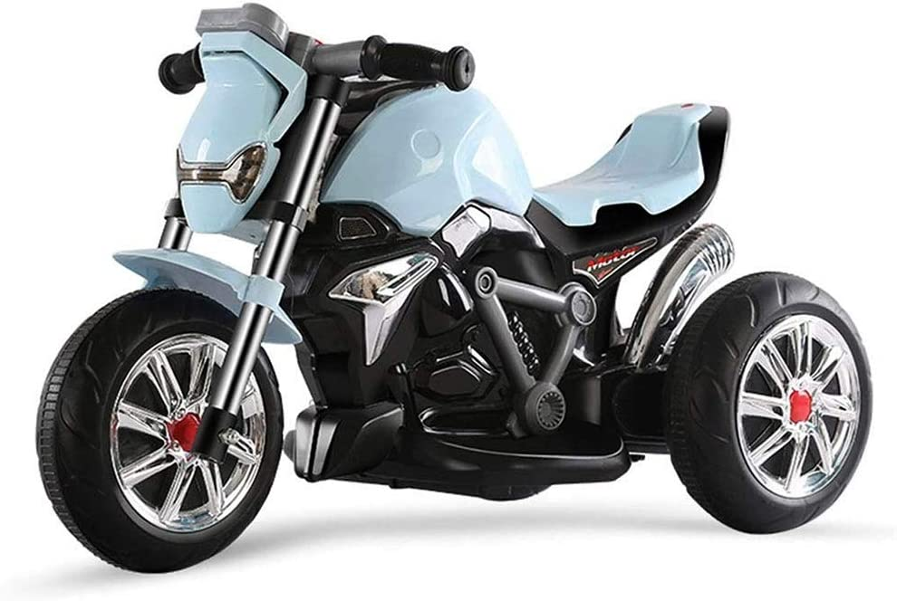 LKJCZ Motocicleta eléctrica para niños Triciclo eléctrico para Hombres y Mujeres Coches para bebés Twist Coche eléctrico Batería para bebés Coche para 3-6 años Motocicletas