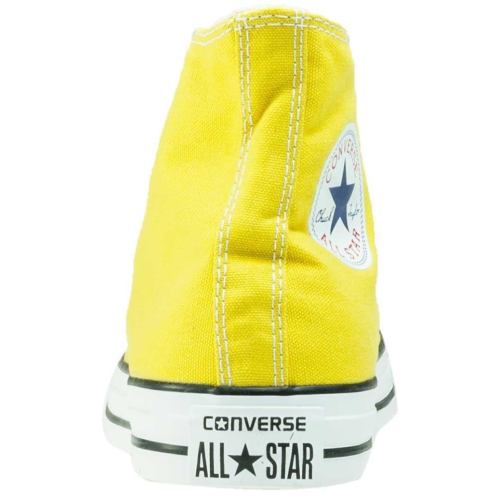 Converse Chuck Taylor All Star Montante Jaune Pâle Jaune 39