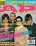Alternative Press 154 AP May 2001 FROM HAS-BEENS TO CULT ICONS: WEEZER RETURN! AND THEY AREN'T EVEN SURE HOW! WE DID NOTHING AND SOMEHOW WE'RE MORE POPULAR THAN EVER