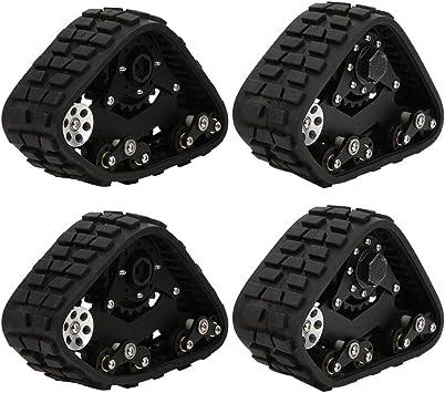Tbest Neumáticos de Nieve RC, 1/10 Control Remoto RC Rueda de Arena Modelo Neumático de automóvil RC Crawler Accesorio de automóvil