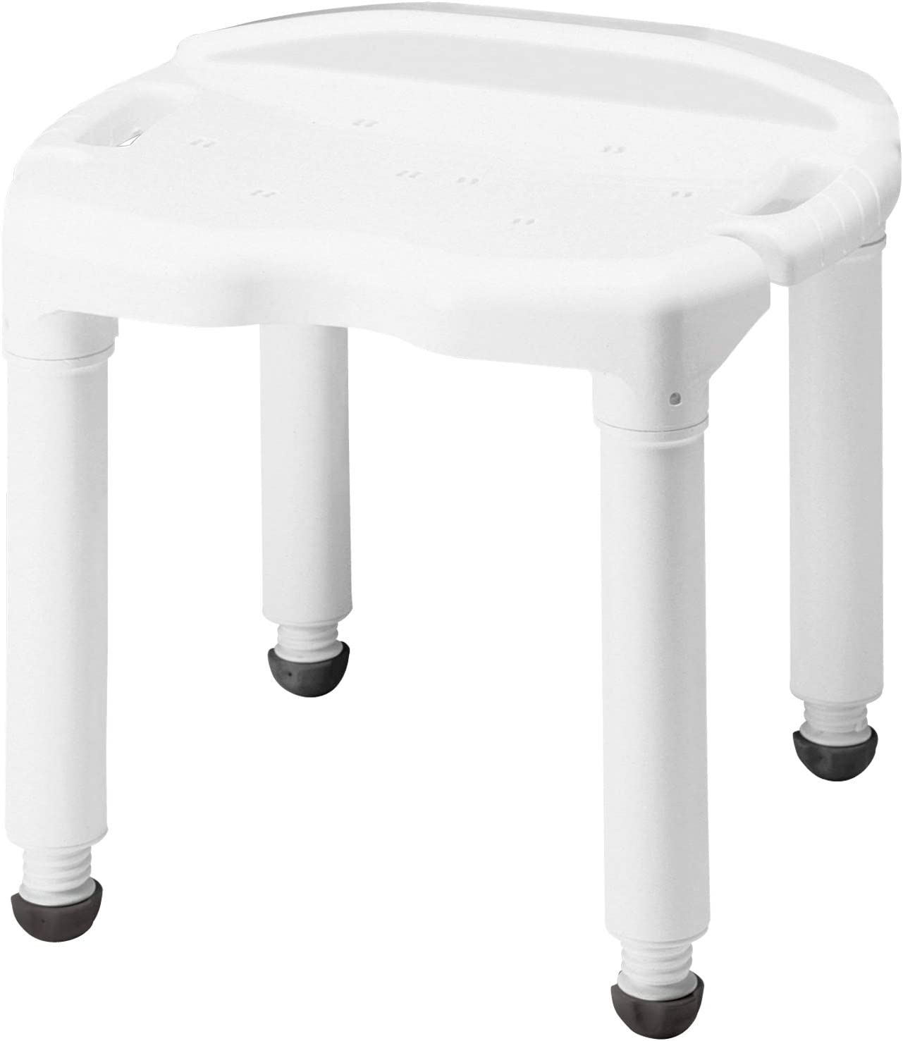 Carex Universal Bath Seat and Shower Chair - With Support Up To 400 Pounds - Adjustable Height Shower Bench: Health & Personal Care