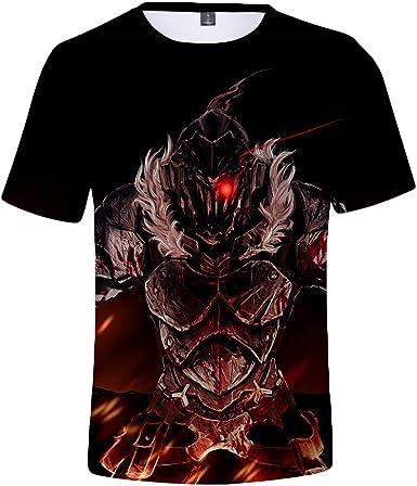 Hkokjfrt Goblin Slayer Camiseta Nueva Camisa de Trabajo ...