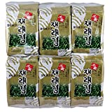 Myungga gim, Seasoned seaweed snack, 24 Count, Traditional seasoned seaweed of Korea