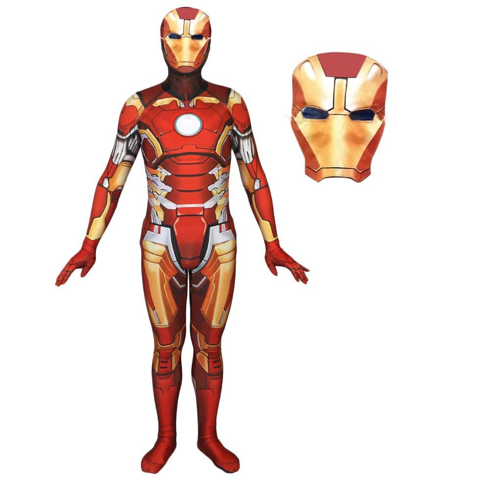 WEGCJU Iron Man Man Man Kostüm Cosplay Stretch Gymnastikanzug Requisiten,Nomask-XXL dd9ca8
