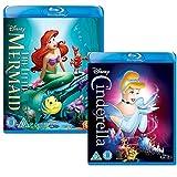 The Little Mermaid - Cinderella - Walt Disney 2 Movie Bundling Blu-ray