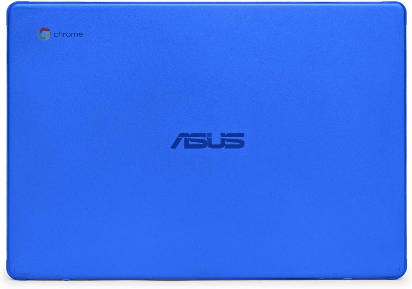 mCover Hard Shell Case for 2019 14-inch ASUS Chromebook C423NA Series Laptop - ASUS C423 Blue