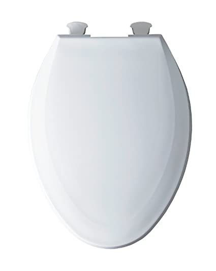 Incredible Bemis 1100Ec 000 Toilet Seat With Easy Clean Change Hinges Elongated Plastic White Andrewgaddart Wooden Chair Designs For Living Room Andrewgaddartcom