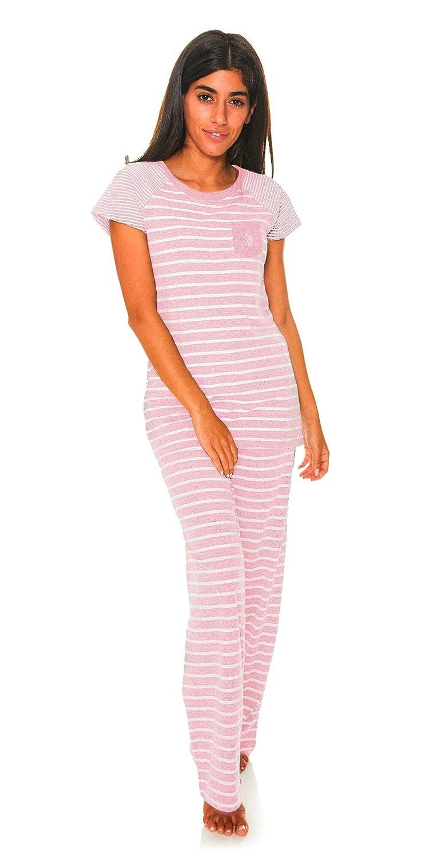 U.S Womens Top and Pajama Pants Lounge Sleepwear Set Polo Assn