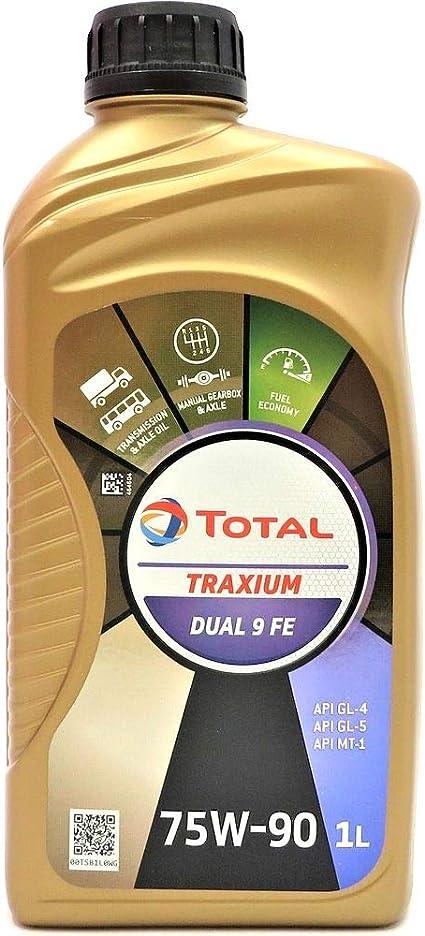 Total Transmisión Dual 9 FE 75W90 Aceite de caja de cambios manual ...