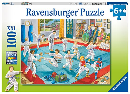 Ravensburger -Martial Arts Class  - 100 Piece Jigsaw Puzzle for Kids - Every Piece is Unique, Pieces Fit Together -