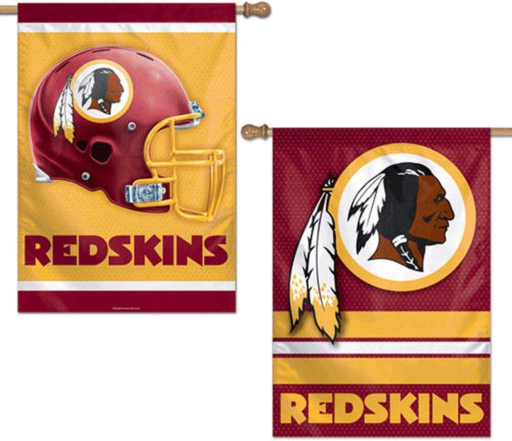 """Washington Redskins Vertical NFL House Flag Licensed Football Banner 28/"""" x 40/"""""""