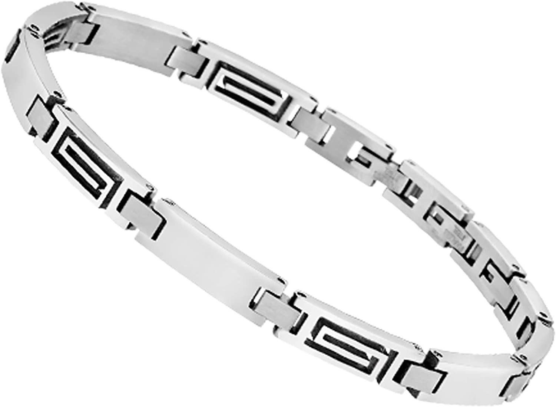 Lotus Bracelet Homme maillons Spirales