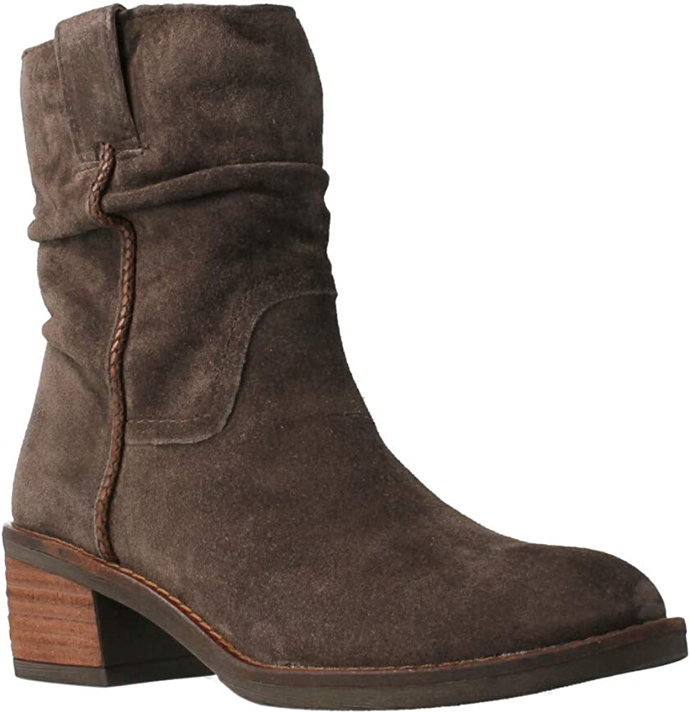 ALPE 43931134 Suede Boot T.B. Grey for Women Grey Size: 4