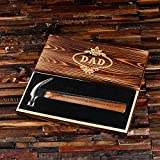 Personalized Hammer with Engraved Wooden Gift Box - Great Gift for Men or Branding Gift