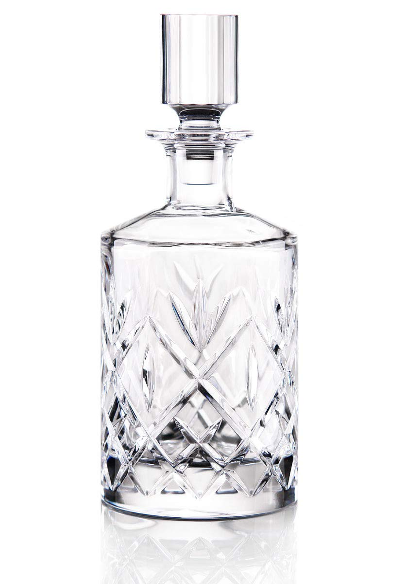Waterford Crystal Huntley Round Whiskey Decanter