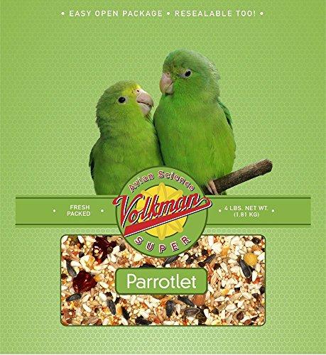 Volkman Avian Science Diet Parrotlet Bird Food 4 Lb ()