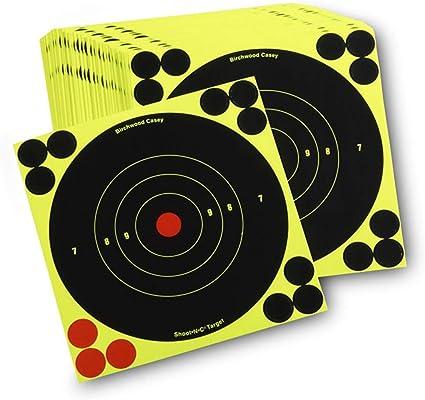Birchwood Casey Shoot-n-c Vista en l/ámina de Objetivo 6/Unidades