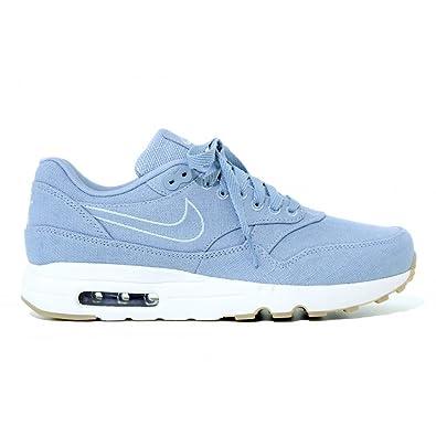 Nike Men's Air Max 1 Ultra 2. 0 Textile Blue Grey 898009 401