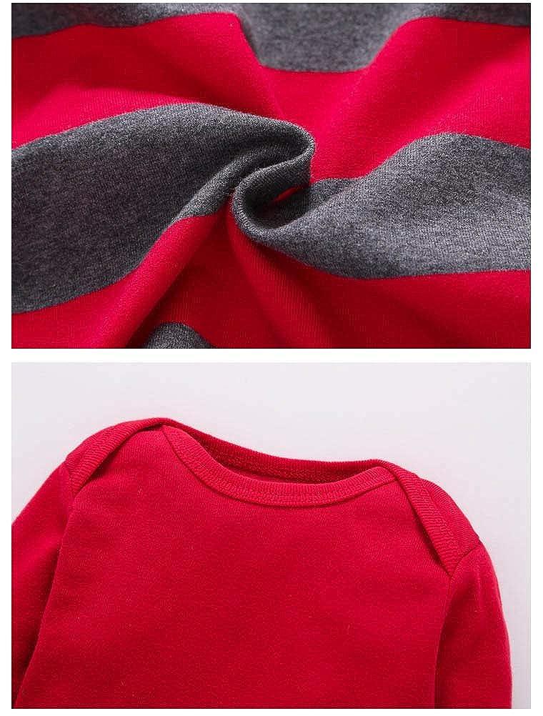 ARAUS 3PC B/éb/é Combinaison avec Chapeau Ensembles /Épais Barboteuse /À Capuche Chaud Manteaux Jumpsuit Cartoon Salopette Veste+Pantalon Hiver Tenues 3-18 Mois