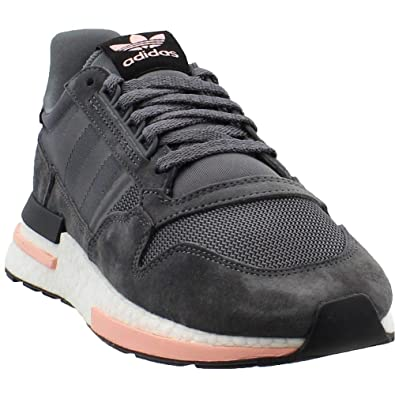best website a1624 0fc5a adidas Men's ZX 500 RM Grey/Cloud White/Clear Orange B42217