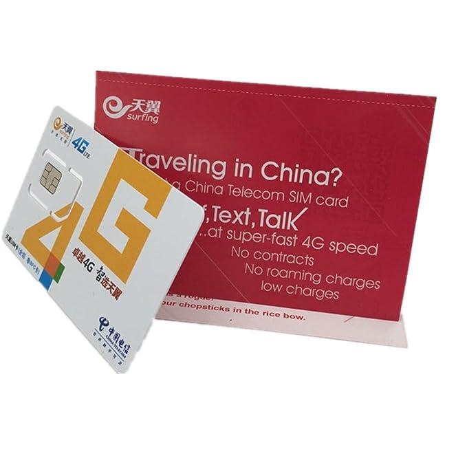 Amazon.com: China Telecom Prepago, tarjetas y teléfono ...