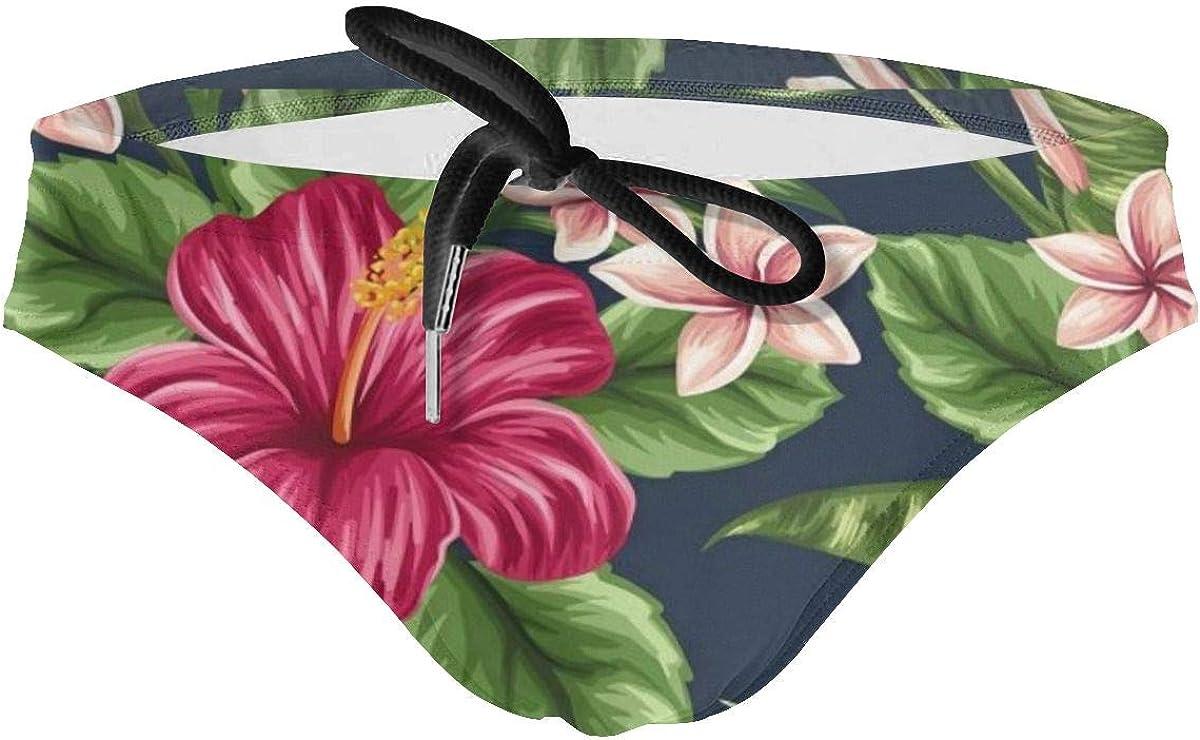 Bathers Swimsuit Swimwear Trunks Boys Home Made Magenta Pink Racer Swim Brief
