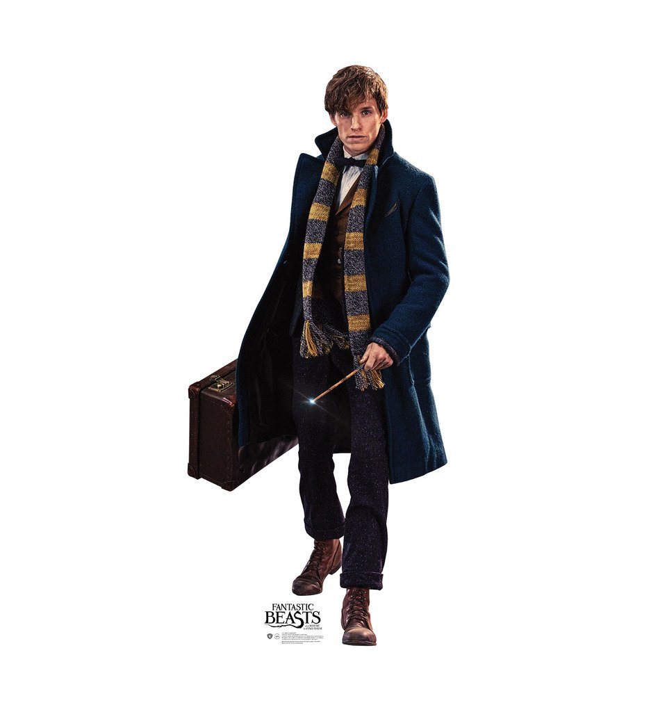 Newt Scamander - Fantastic Beasts and Where to Find Them (2016 Film) - Advanced Graphics Life Size Cardboard Standup by Advanced Graphics