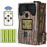 huntooler Deer Camera with Night Vision 12MP 1080HD 940nm No Glow Infrared for Deer Hunting By