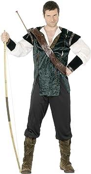 Disfraz Robin Hood verde L 52/54 cajas de bosque de la Edad ...