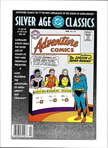 SILVER AGE CLASSIC: ADVENTURE COMICS #247 [1992 VF] REPRINT 1ST APP LSH