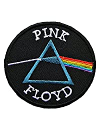 "InspireMe Family Owned Pink Floyd Dark Side of the Moon Rock&Roll Patch 3.5""X2"""