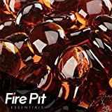 Caramel Fire Beads Fire Glass Firepit Glass 10 Pounds Great for Fire Pit Fireglass or Fireplace Glass Review